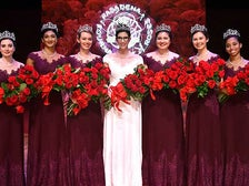 101st Rose Queen Louise Deser Siskel and the 2019 Royal Court