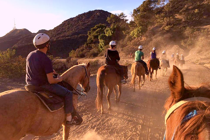 Afternoon ride with Sunset Ranch Hollywood